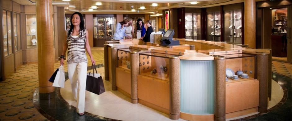 Celebrity Constellation Shops