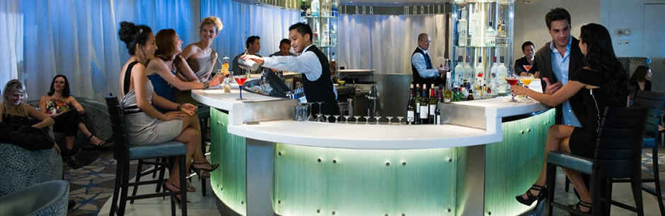 Celebrity Equinox Martini Bar
