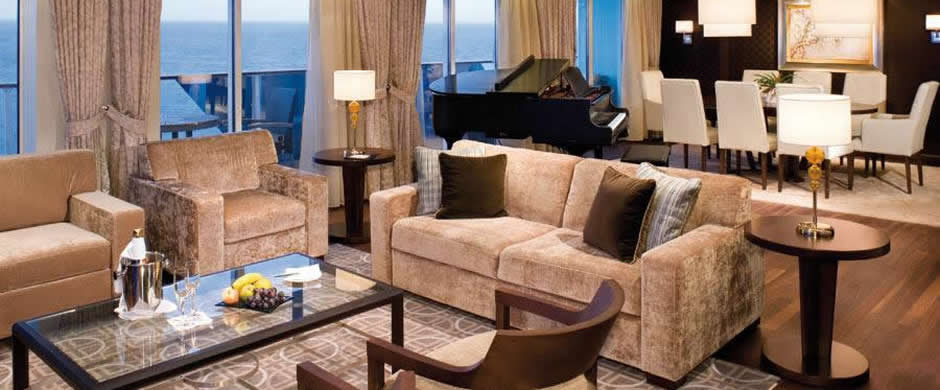 Celebrity Silhouette Penthouse Suite