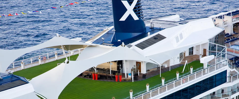 Celebrity Solstice Putting Lawn