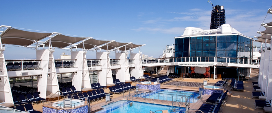 Celebrity Solstice Swiming Pool