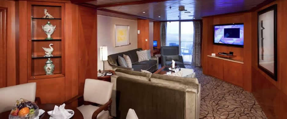 Celebrity Summit Royal Suite