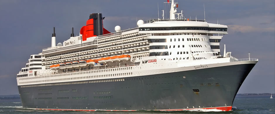 Cunard Queen Mary Exterior
