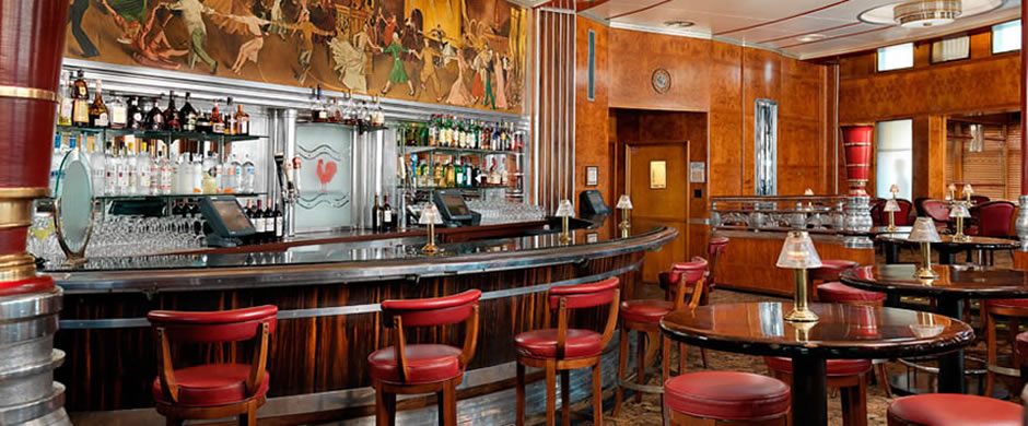Cunard Queen Mary Observation Bar