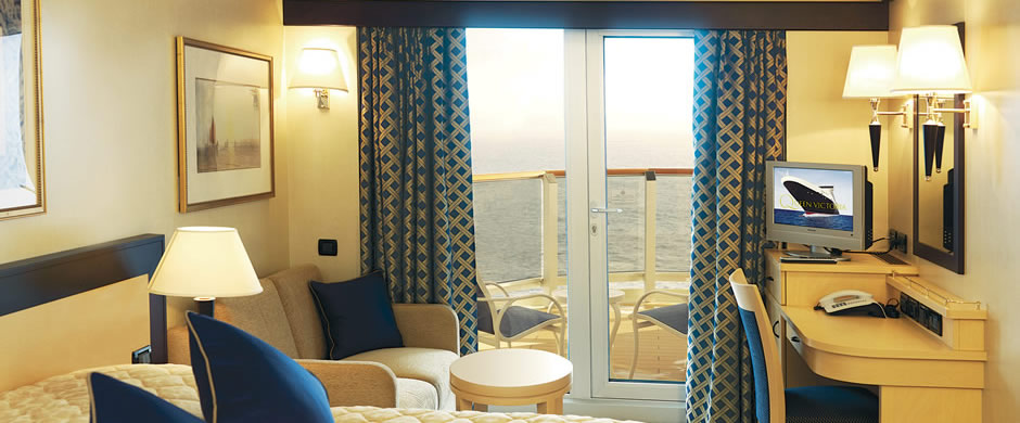Cunard Queen Victoria Balcony Stateroom