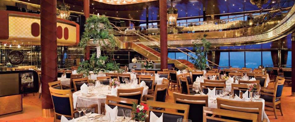 Holland America Maasdam Dining Room
