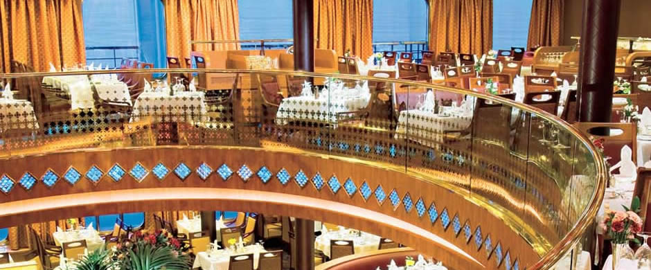 Holland America Noordam Dining  Room