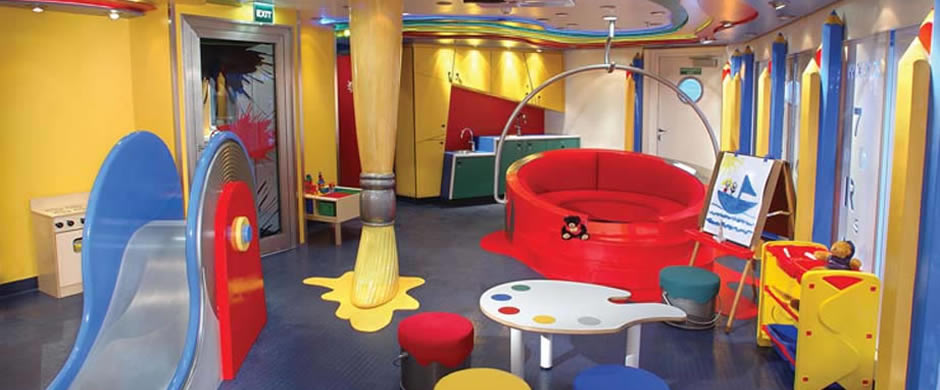 Holland America Statendam Childrens Club