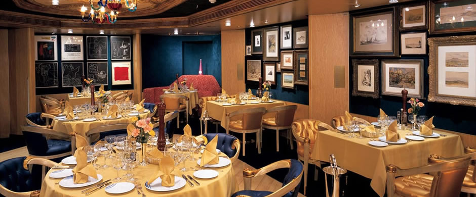 Holland America Volendam Pinnacle Grill Dining Room