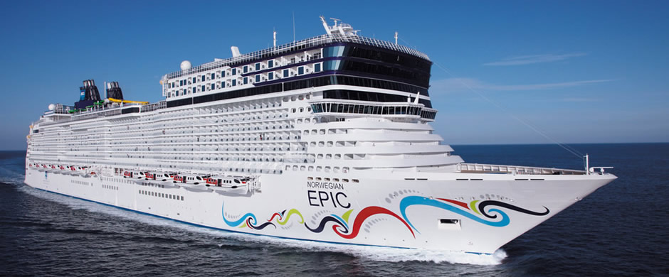NCL Norwegian Epic Exterior