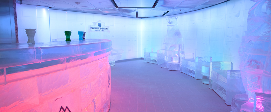 NCL Norwegian Epic Ice Bar