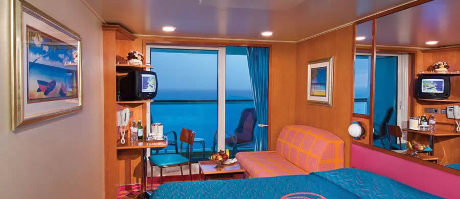 NCL Norwegian Jewel Balcony Stateroom