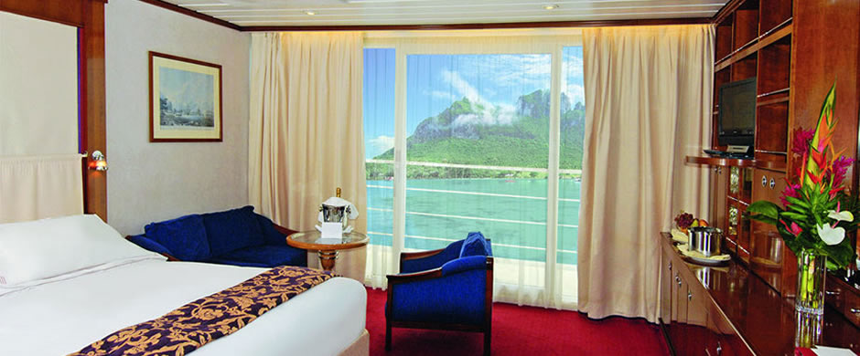 Paul Gauguin Balcony Stateroom