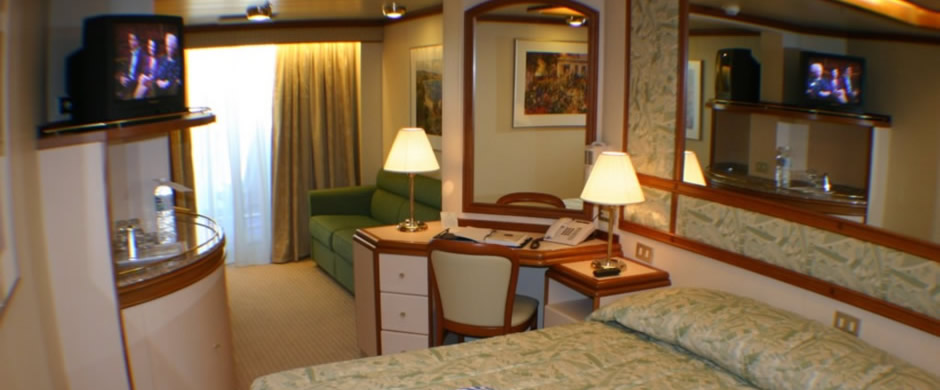 Caribbean Princess Mini Suite Balcony Stateroom