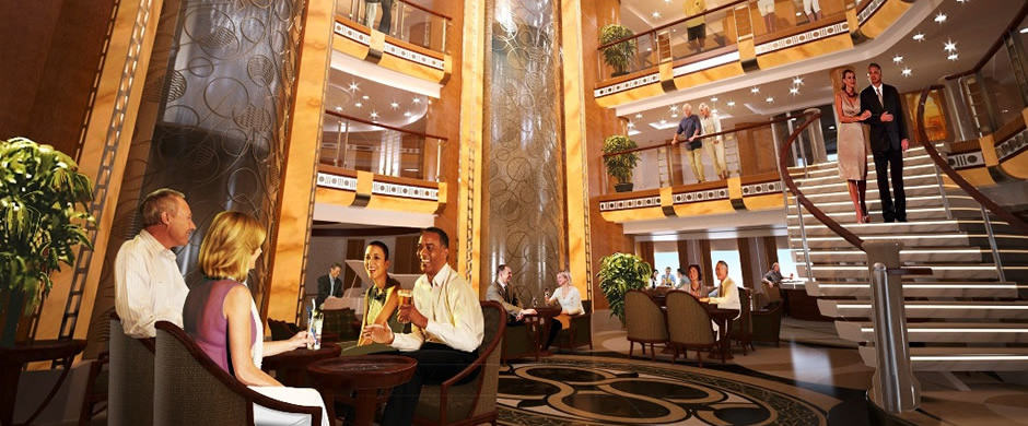 Grand Princess Atrium