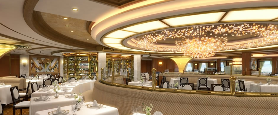 Royal Princess Dining Room