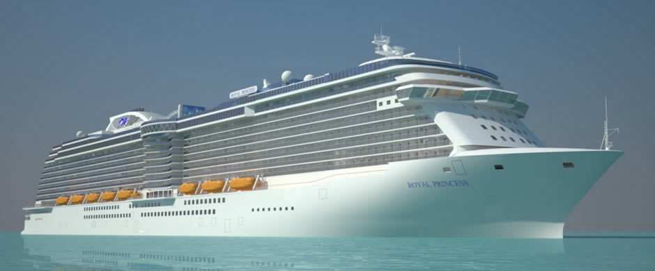 Royal Princess Exterior
