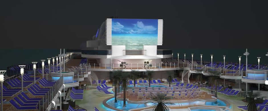 Rroyal Princess Swimming Pool Area