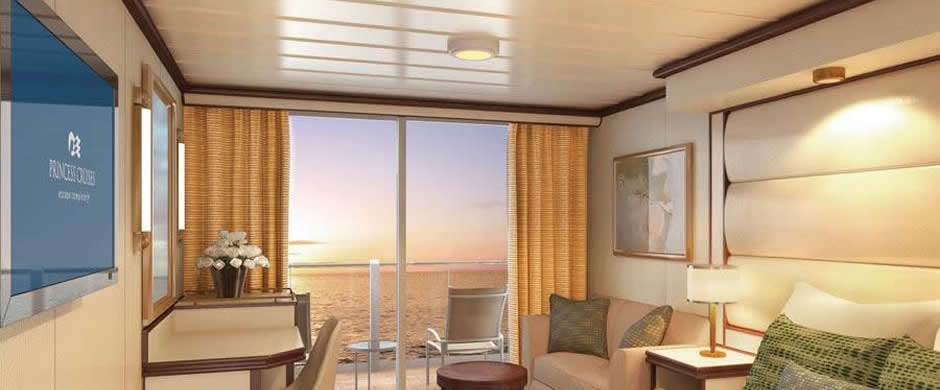 Rroyal Princess Deluxe Balcony Stateroom