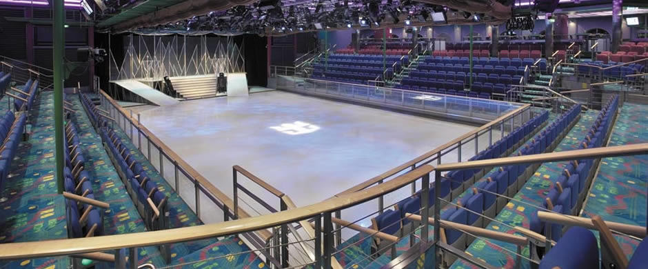 Royal Caribbean Explorer of the Seas Skating Ring