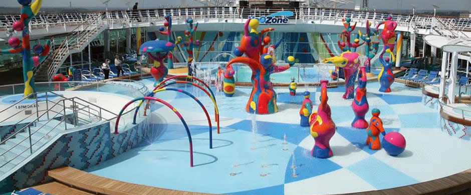 Royal Caribbean Freedom of the Seas Baby Pool Area