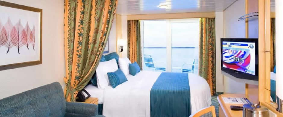 Royal Caribbean Independence of the Seas Balcony Stateroom