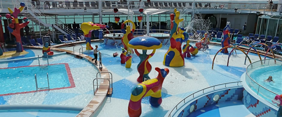 Royal Caribbean Independence of the Seas Childrens Pool