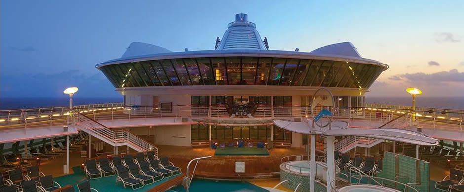 Royal Caribbean Jewel of the Seas Swimming Pool