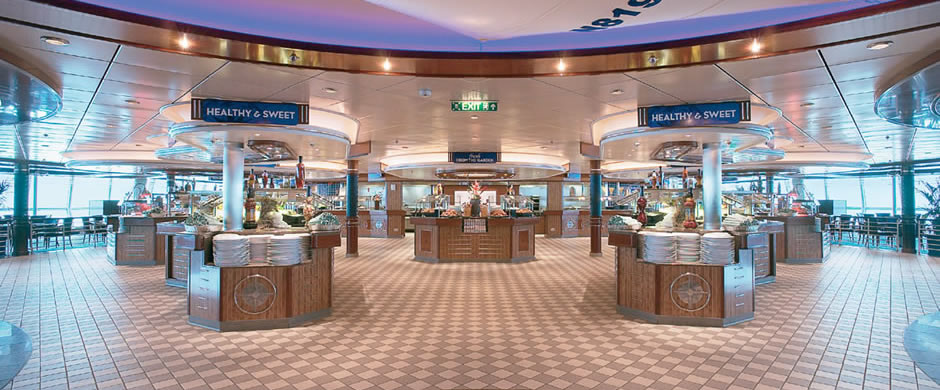 Royal Caribbean Jewel of the Sea Winjammer Cafe