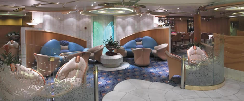 Royal Caribbean Legend of the Seas Champagne Bar