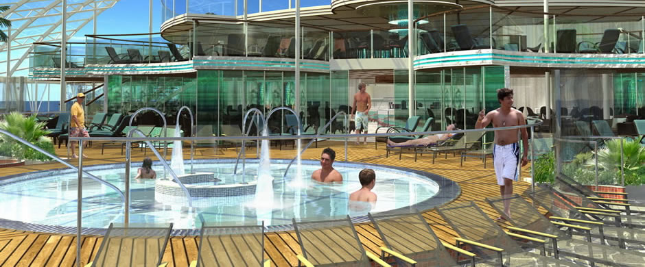 Royal Caribbean Oasis of the Seas Solarium