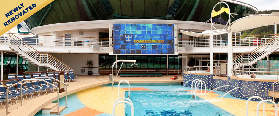 Royal Caribbean Radiance of the Seas Pool Area
