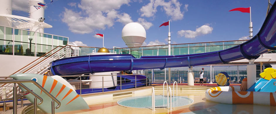 Royal Caribbean Rhapsody of the Seas Childrens Pool