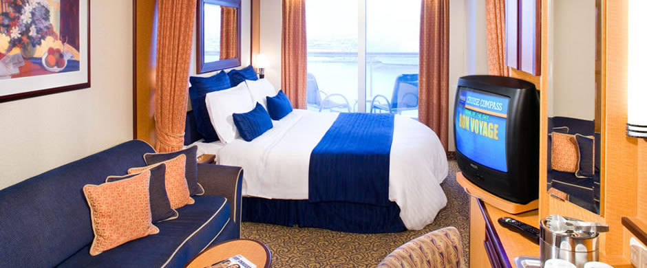 Royal Caribbean Vision of the Seas Balcony Stateroom