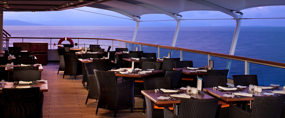 Seabourn Odyssey Outside Dining