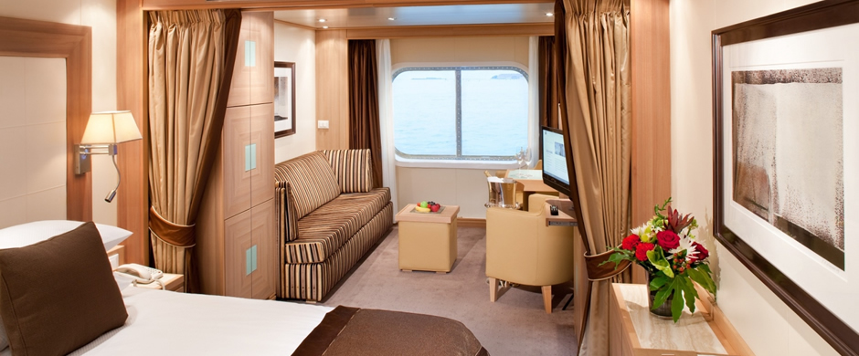 Seabourn Quest Stateroom