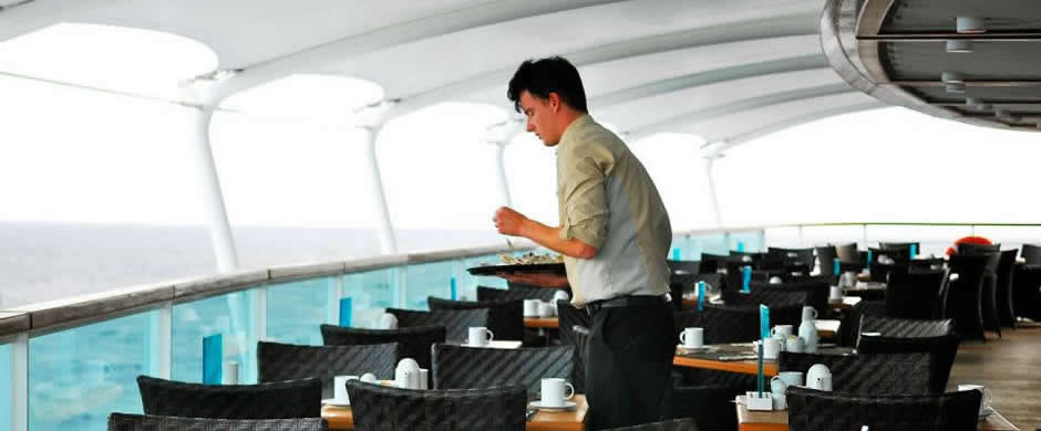 Seabourn Quest Outdoor Dining