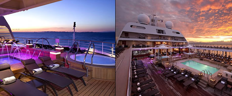 Seabourn Quest Pool Deck
