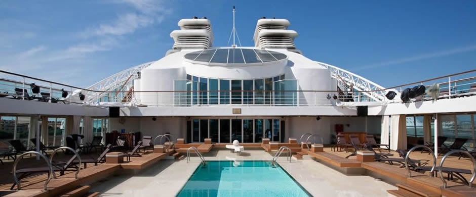 Seabourn Sojourn Swimming Pool