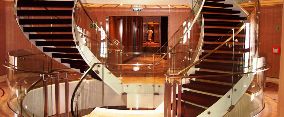 Seabourn Sojourn Staircase