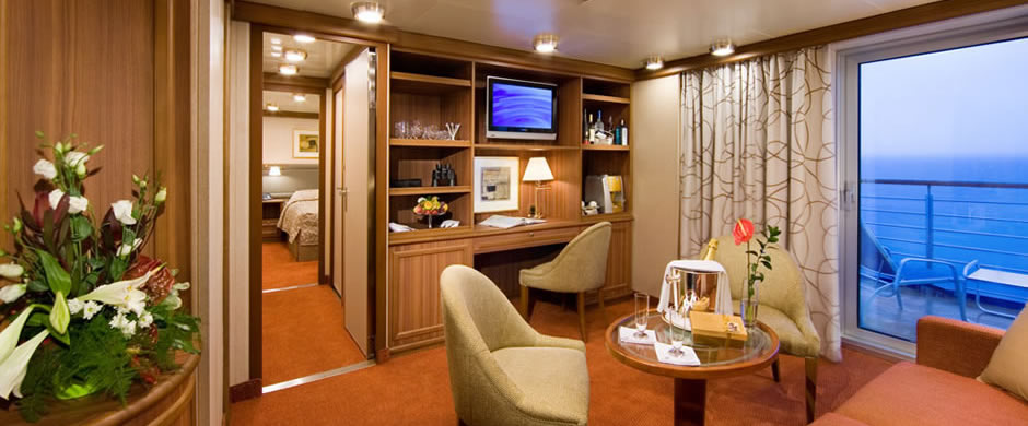 Silversea Explorer Owners Suite